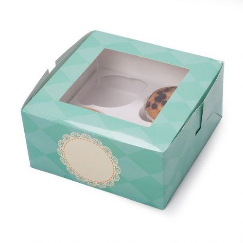 Tiffany Cup Cake Box for 4 cakes 2's